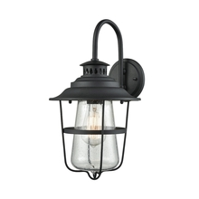 ELK Lighting 45120/1 - San Mateo 1 Light Outdoor Wall Sconce In Texture