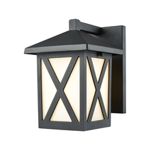 ELK Lighting 45215/1 - Lawton 1 Light Outdoor Wall Sconce In Matte Blac