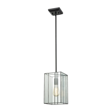 ELK Lighting 72195/1 - Lucian 1 Light Pendant In Oil Rubbed Bronze With