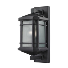 ELK Lighting 87040/1 - Lowell 1 Light Outdoor Sconce In Matte Black