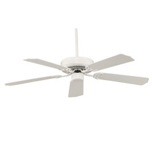 Savoy House 52-FAN-5W-WH - The Builder Specialty Ceiling Fan