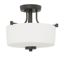 Craftmade 43553-ABZ - Clarendon 3 Light Semi Flush in Aged Bronze Brushed