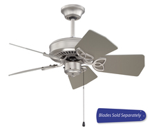 "Craftmade PI30BN - Piccolo 30"" Ceiling Fan in Brushed Satin Nickel (Blades Sold Separately)"