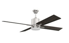 "Craftmade TEA52BNK4-UCI - 52"" Ceiling Fan w/Blades LED Light Kit w/UCI-2000"