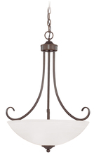 Jeremiah 25323-OB - Raleigh 3 Light Inverted Pendant in Old Bronze