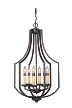 Jeremiah 40036-OBG - Hayden 6 Light Foyer in Oil Bronze Gilded