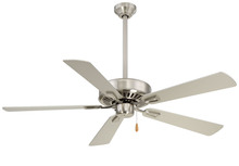 "Minka-Aire F556-BN - Contractor Plus 52"" - Brushed Nickel"