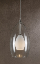 "CAL Lighting UP-1045/6-BS - 72"" Height Pendant Set In Brushed Steel"