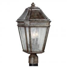 Generation Lighting - Feiss OL11308WCT - 3 - Light Outdoor Post