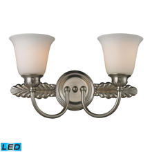 ELK Lighting 11434/2-LED - Two Light Brushed Nickel Vanity