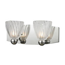 ELK Lighting 11791/2 - Lindale 2 Light Vanity In Polished Chrome And Sc