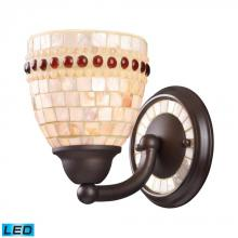 ELK Lighting 15010/1-LED - One Light Aged Bronze Bathroom Sconce