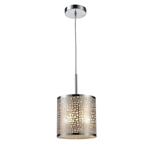 ELK Lighting 31041/1 - Medina 1 Light Pendant In Polished Stainless Ste