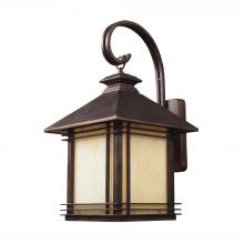 ELK Lighting 42102/1 - Blackwell 1 Light Outdoor Sconce In Hazelnut Bro