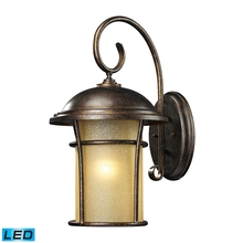 ELK Lighting 45037/1-LED - One Light Regal Bronze Wall Lantern