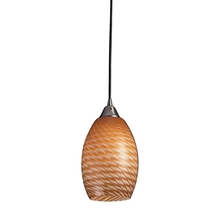 ELK Lighting 517-1C-LED - Mulinello 1 Light LED Pendant In Satin Nickel Wi