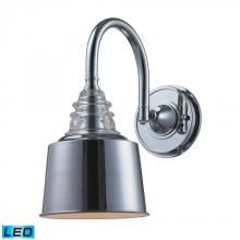 ELK Lighting 66803-1-LED - One Light Polished Chrome Wall Light