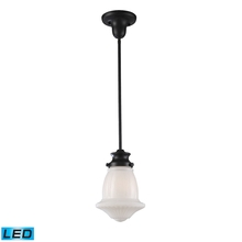 ELK Lighting 69039-1-LED - Schoolhouse Pendants 1 Light LED Pendant In Oile