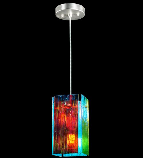 7 W Metro Fusion Fire And Ice Mist Quadrato Mini Pendant Ncrq Minnesota Lighting Fireplace Flooring
